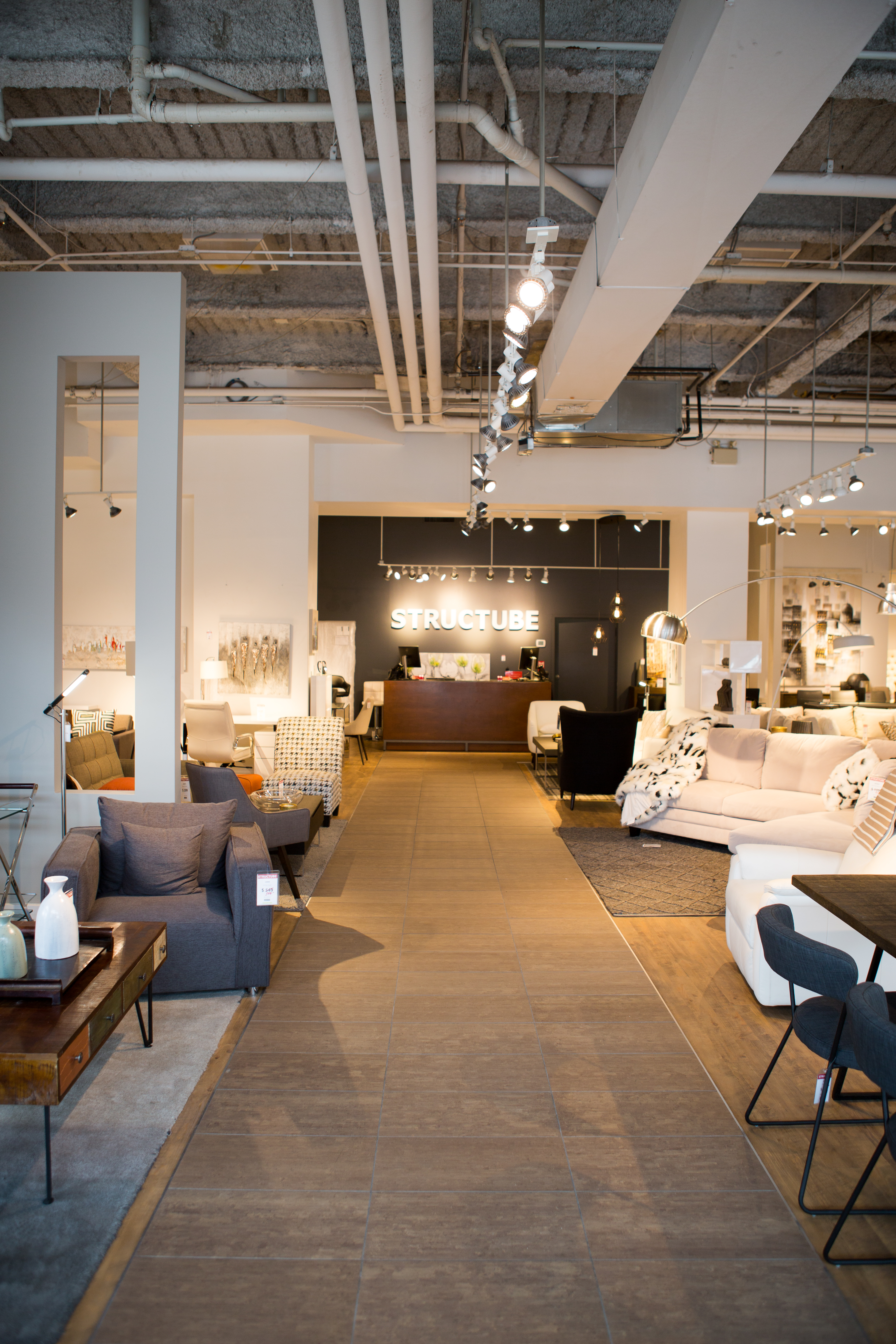 Structube Store In Yorkville Toronto Ontario Canada