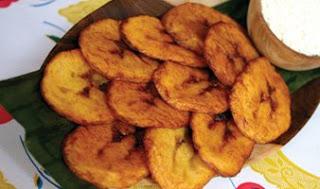 calorias de un platano frito
