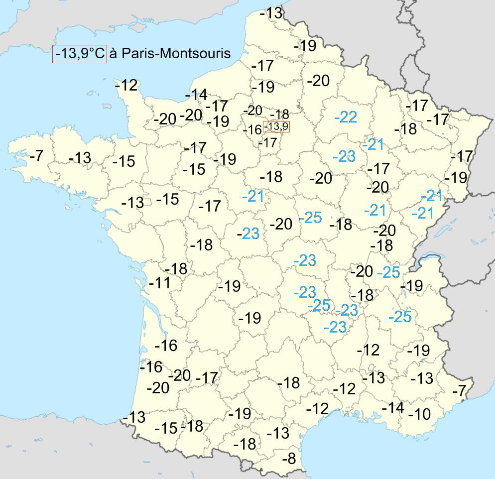 Fichier temp rature minimale en janvier 1985 en wikip dia - Temperature minimale logement ...