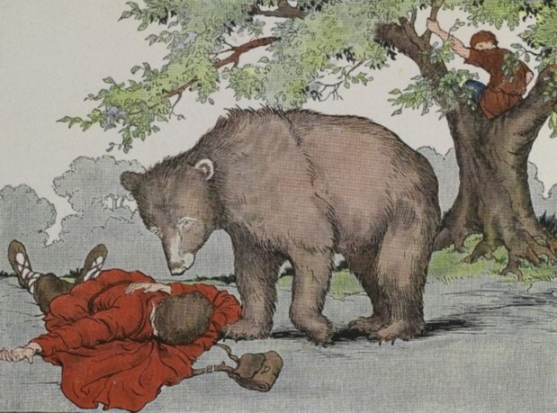 The Bear and the Travelers