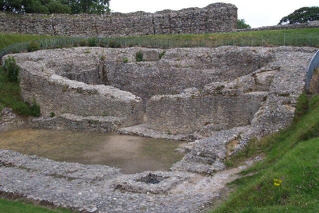 The castle at Castle Acre, Norfolk - geograph.org.uk - 40546