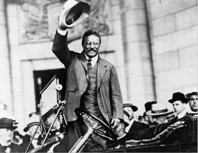 Theodore Roosevelt visits Washington, D.C., 1914-05-26