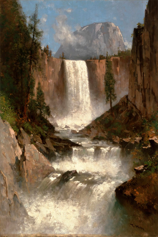 File:Thomas Hill - Vernal Falls, Yosemite.jpg - Wikimedia