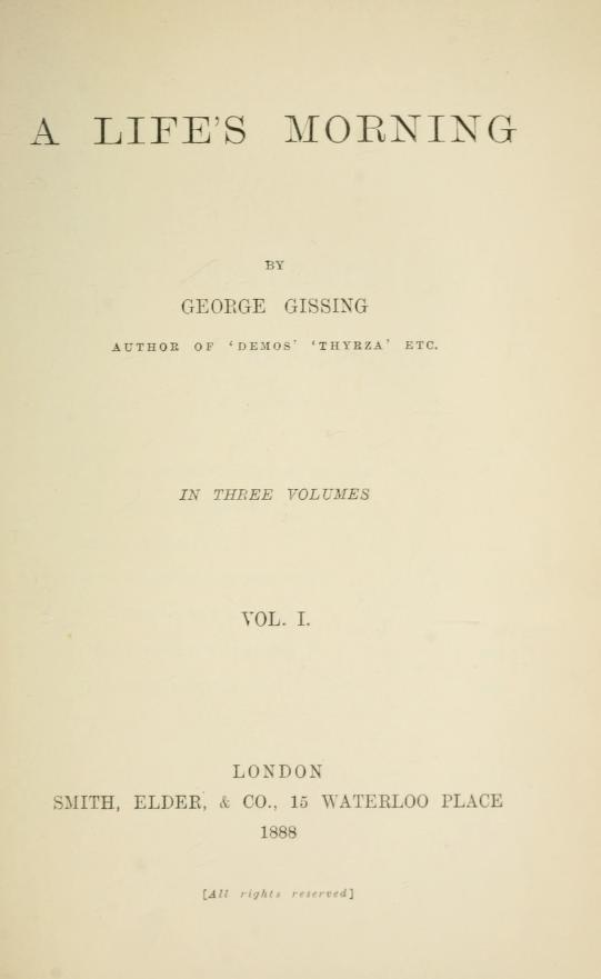 English Literature in Transition, 1880-1920