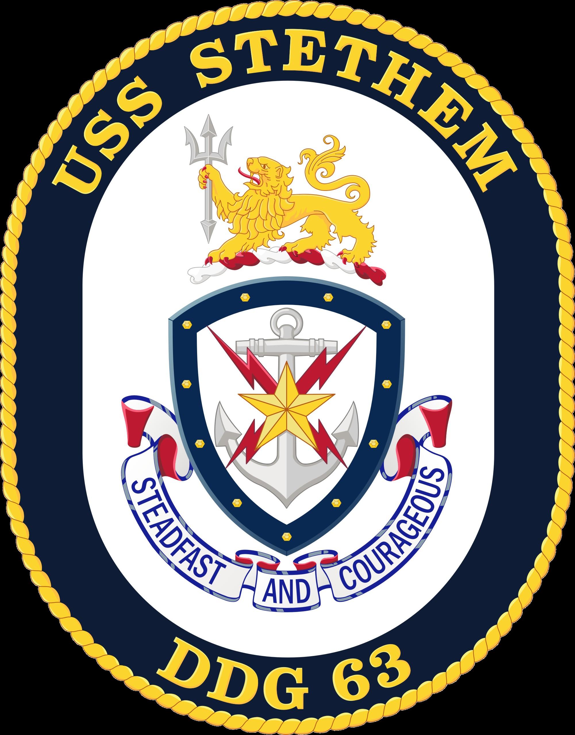 USS Stethem DDG-63 Crest.png