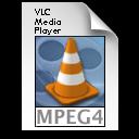 VLC mpeg4