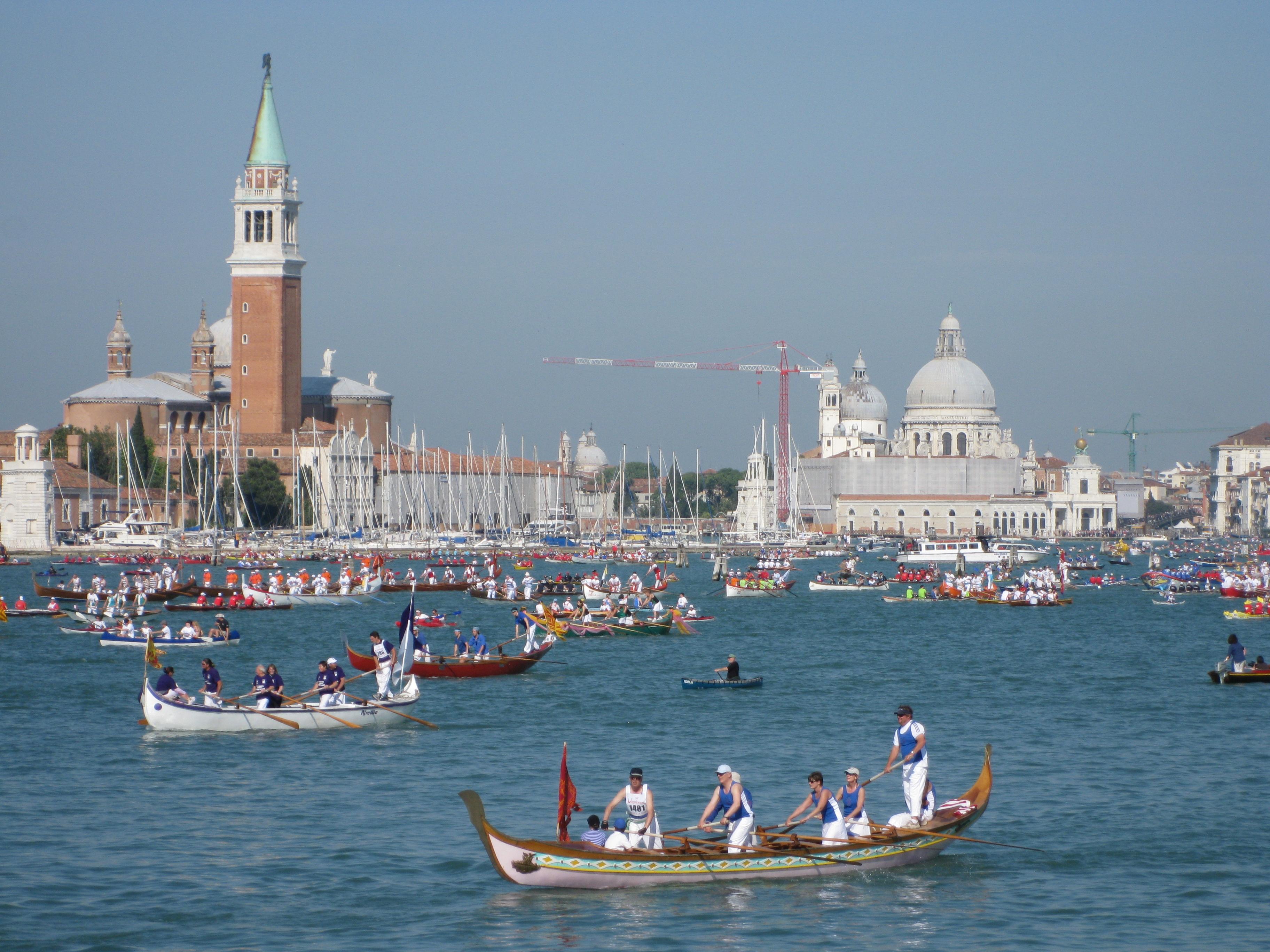 Venecija u slici Venezia_-_Vogalonga_2010_-_01