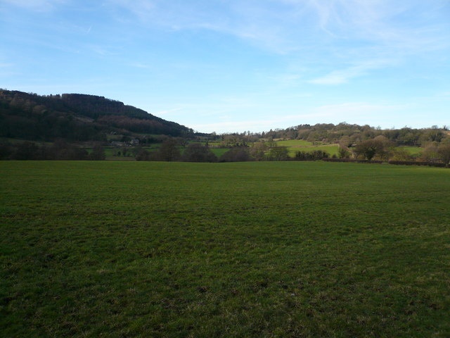 View across fields to Overton - geograph.org.uk - 330400