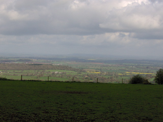 View from Okeford Hill - geograph.org.uk - 163363