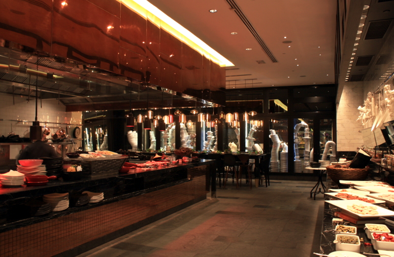 File w hotel hong kong kirchen restaurant interior g