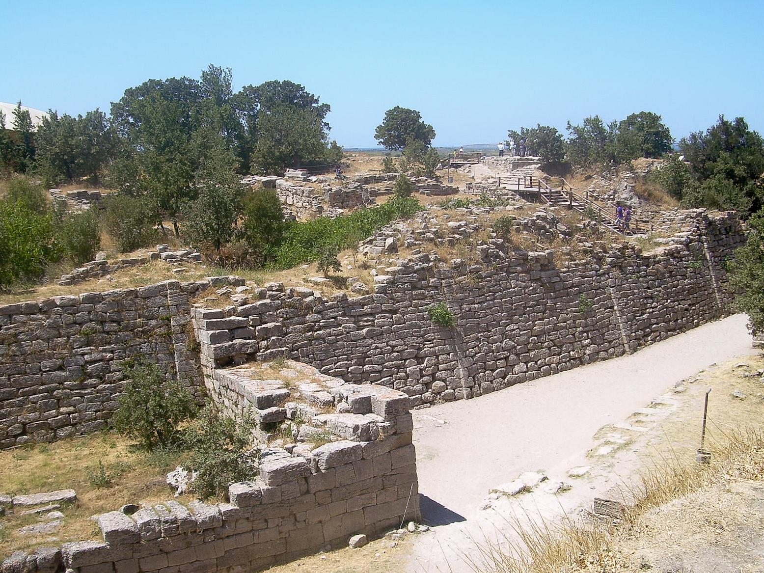 Depiction of Troya