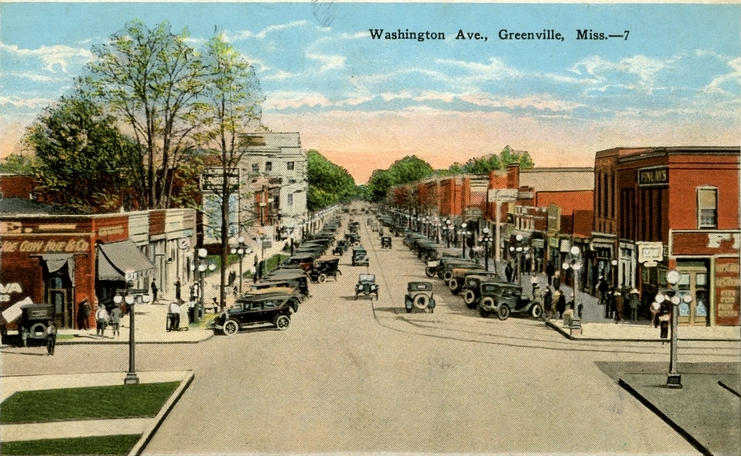 Washington Avenue Greenville