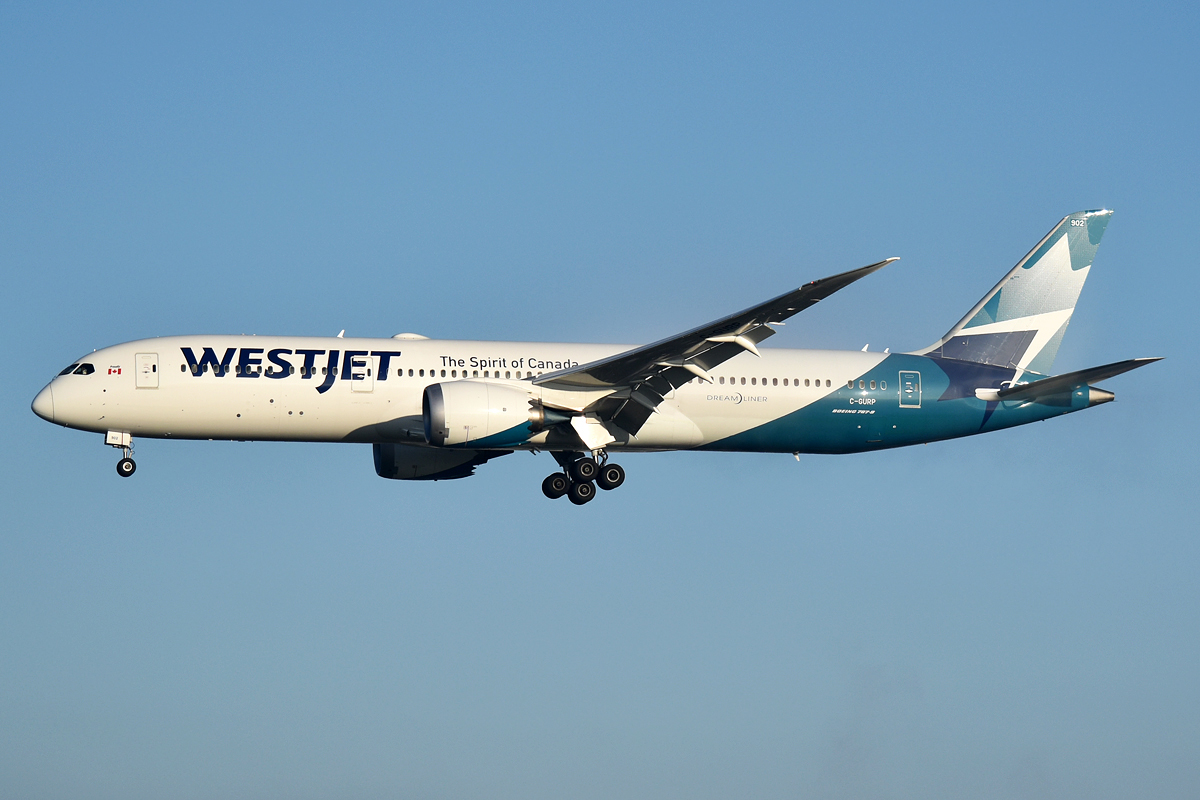 WestJet — Airline with best on-time performance in May 2021