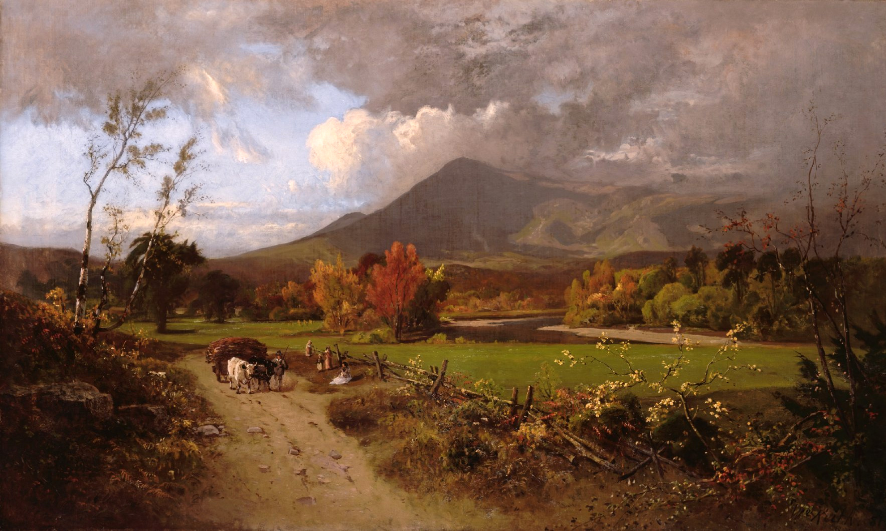 Western Oil Painting Montana