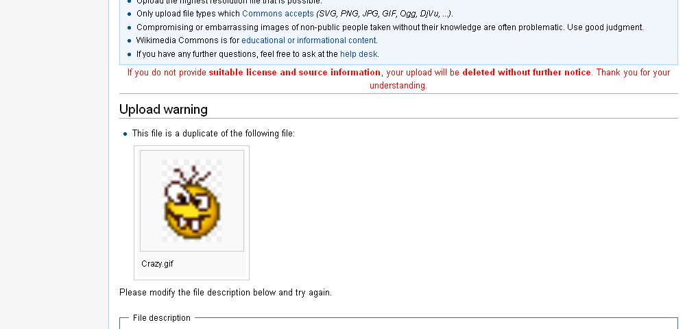Wikipedia commons volunter police are ruining mediawiki.PNG