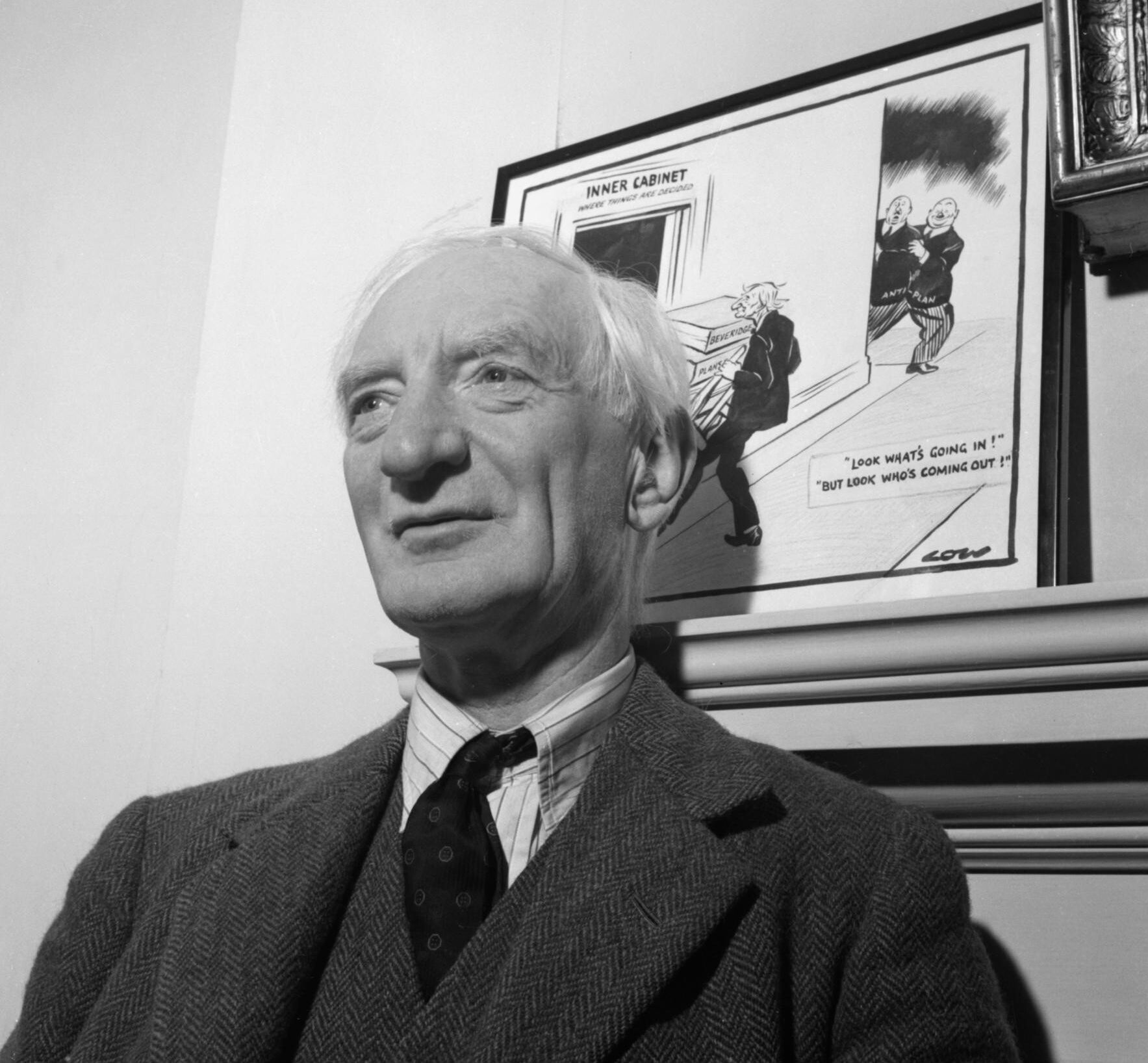 Lord Beveridge in 1943