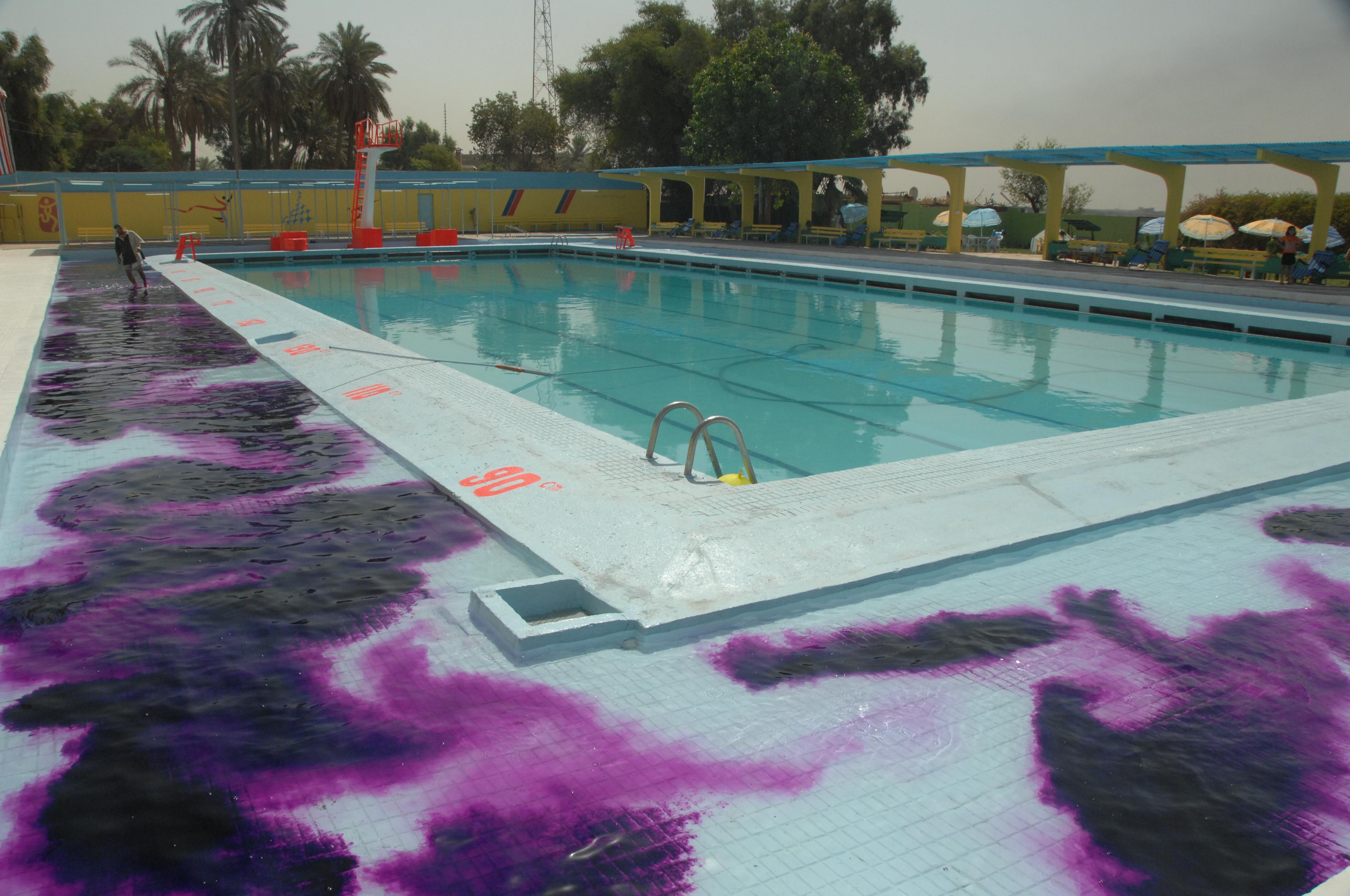 Swimming Pool Change Room Design