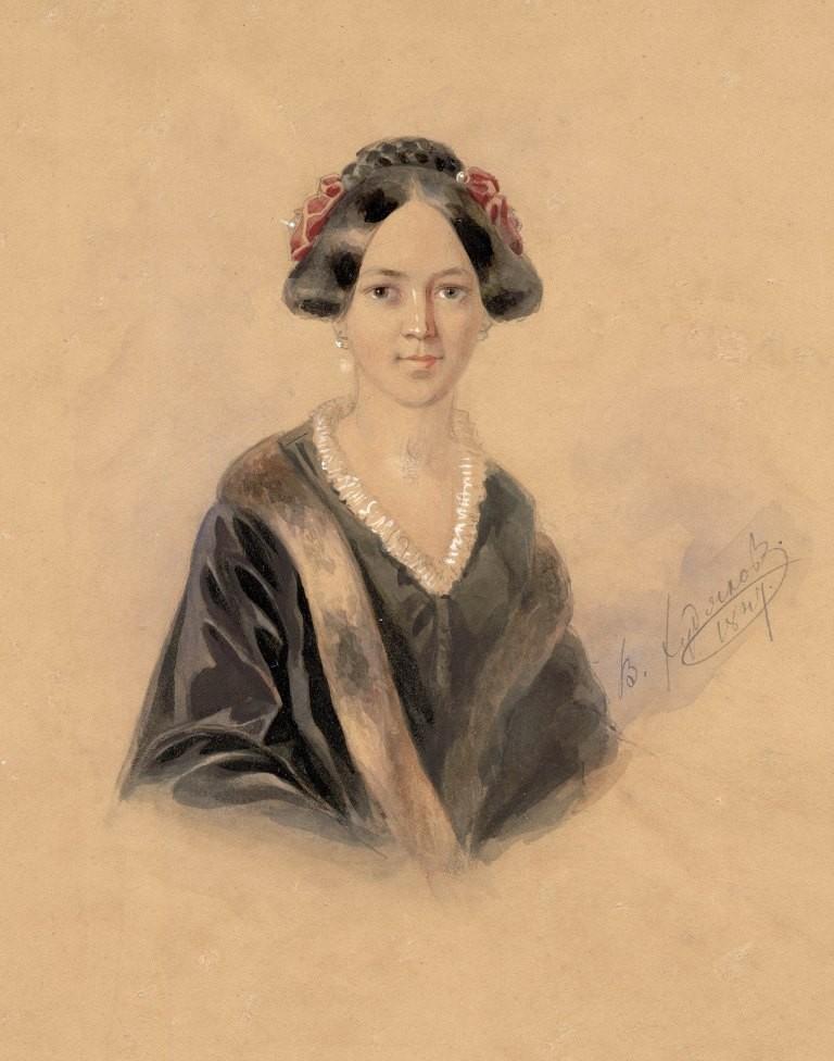 Женский портрет (Худяков).JPG
