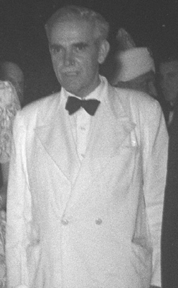Eugène de Ligne in 1947 als ambassadeur in India