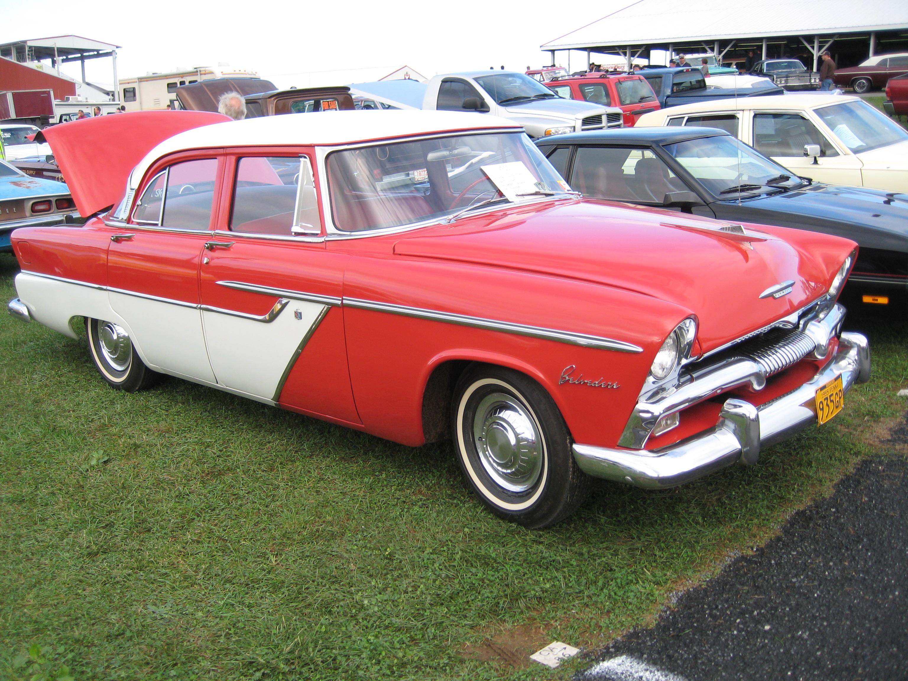 1955 plymouth belveder