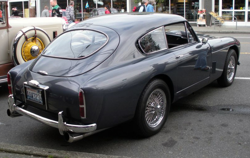 File:1959 Aston Martin DB3 rear & side.jpg - Wikimedia Commons