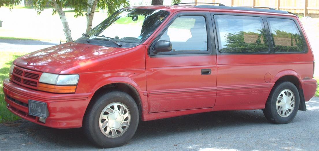 File 1992 93 Dodge Caravan Jpg Wikimedia Commons