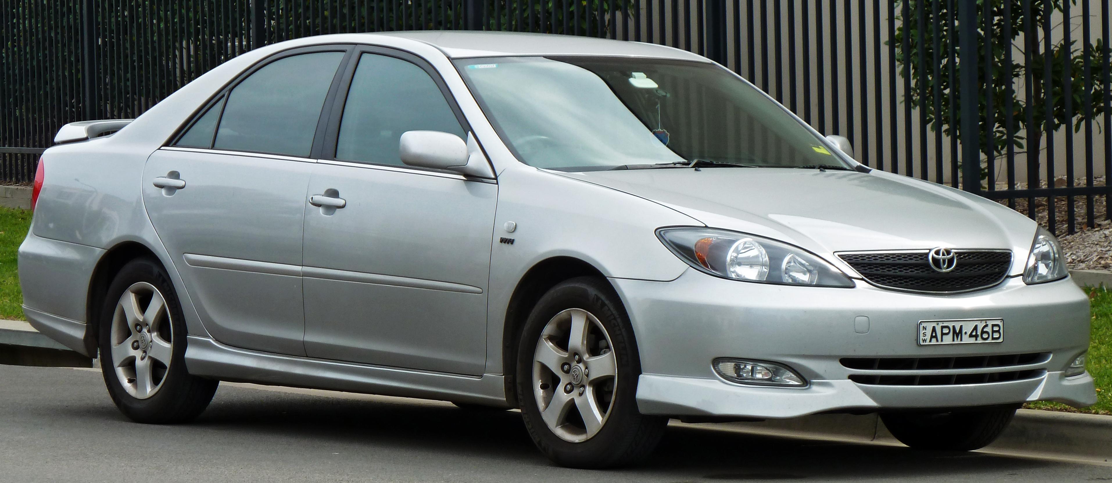 File:2002-2004 Toyota Camry (ACV36R) Sportivo sedan 04.jpg ...