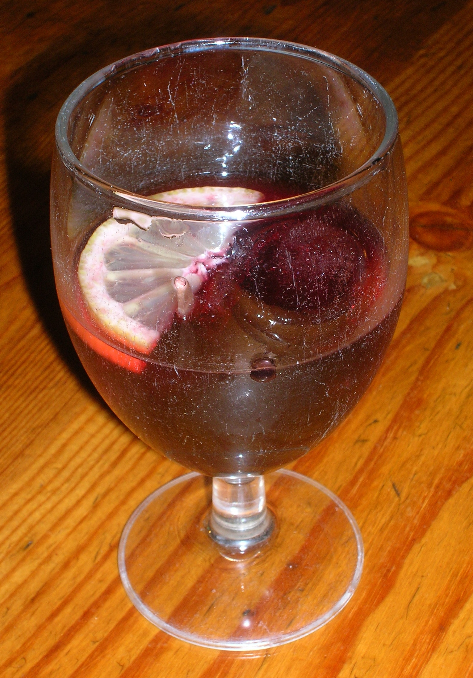 Cocktails with wine