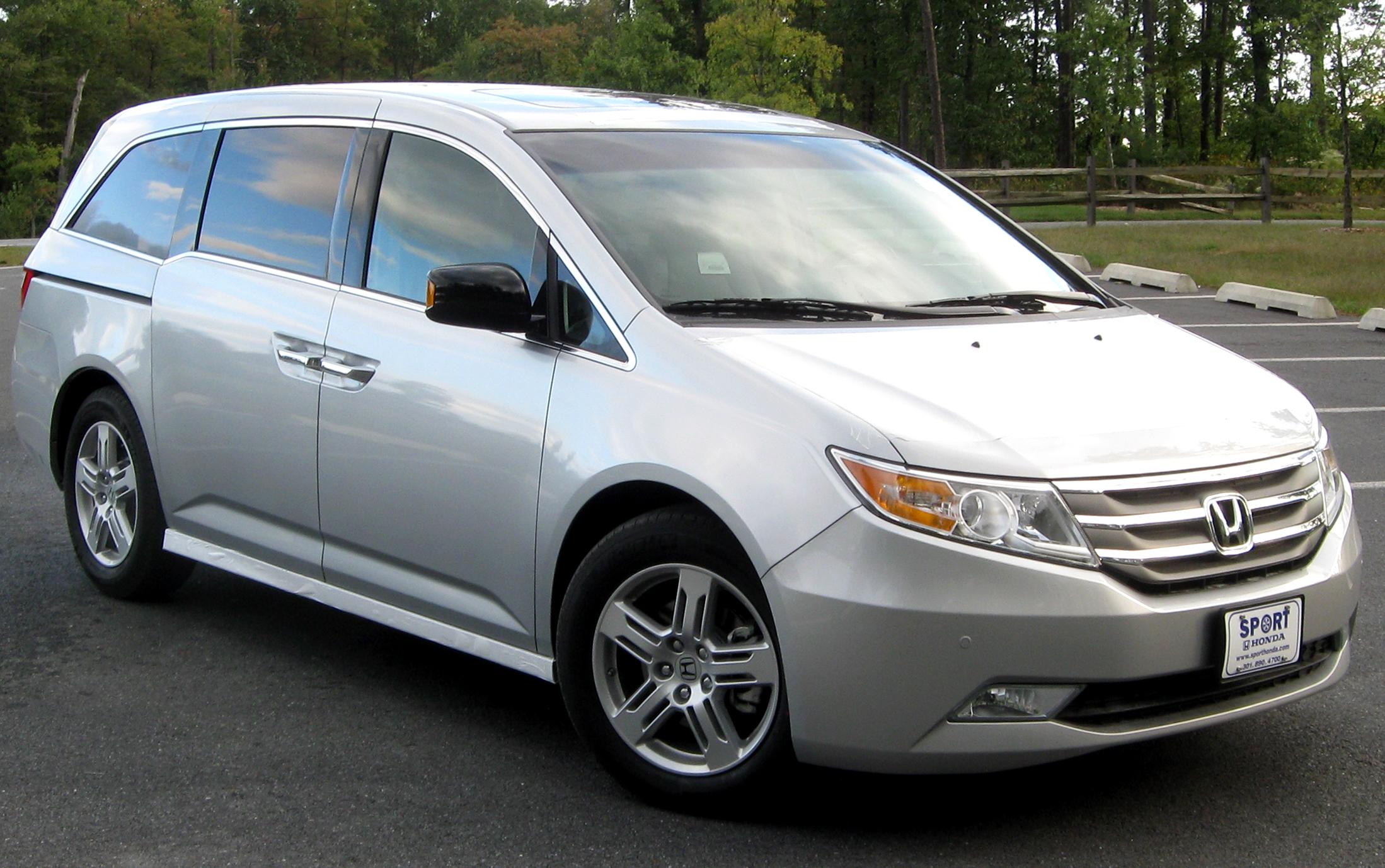File 2011 Honda Odyssey Touring Elite 10 06 2010 Jpg Wikimedia Commons