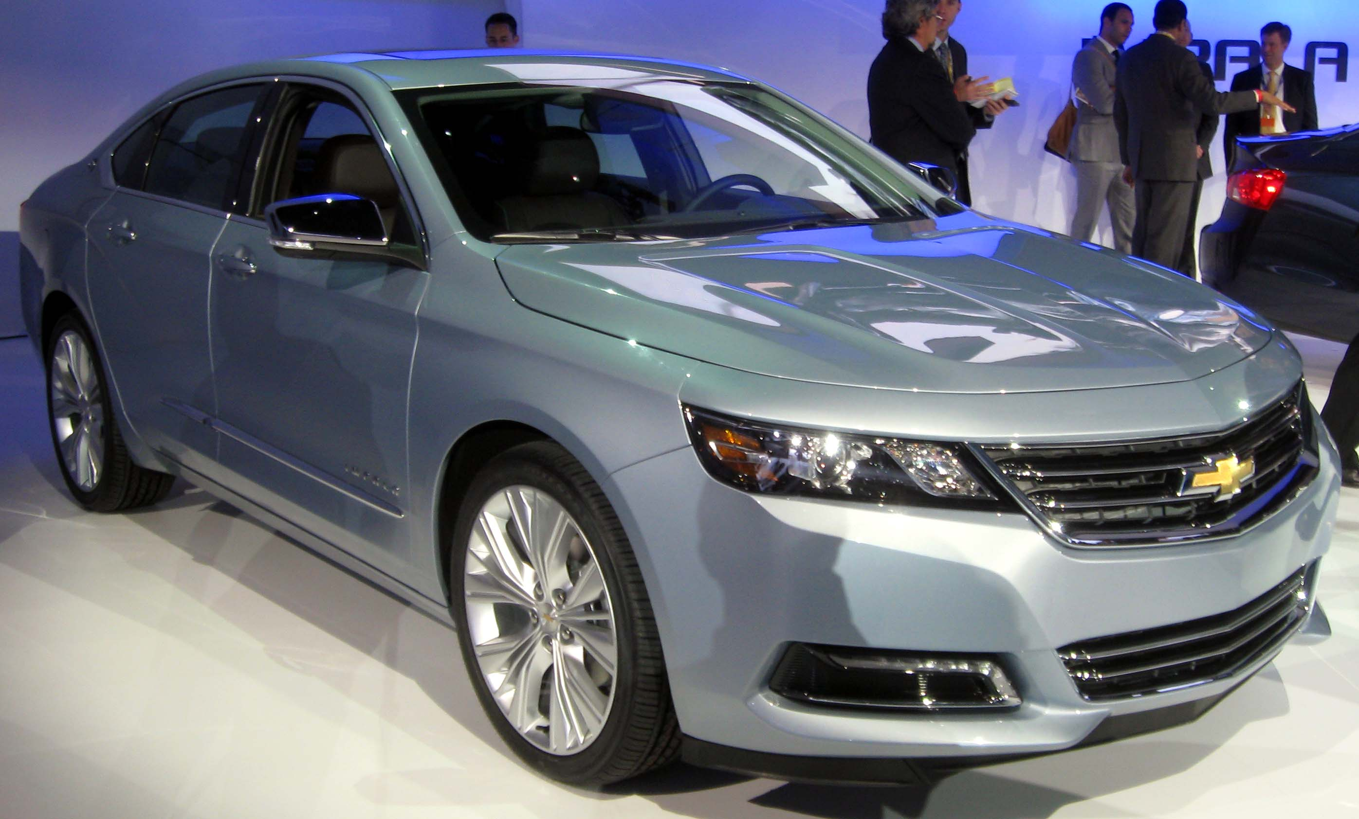 Description 2014 Chevrolet Impala LTZ -- 2012 NYIAS 2.JPG