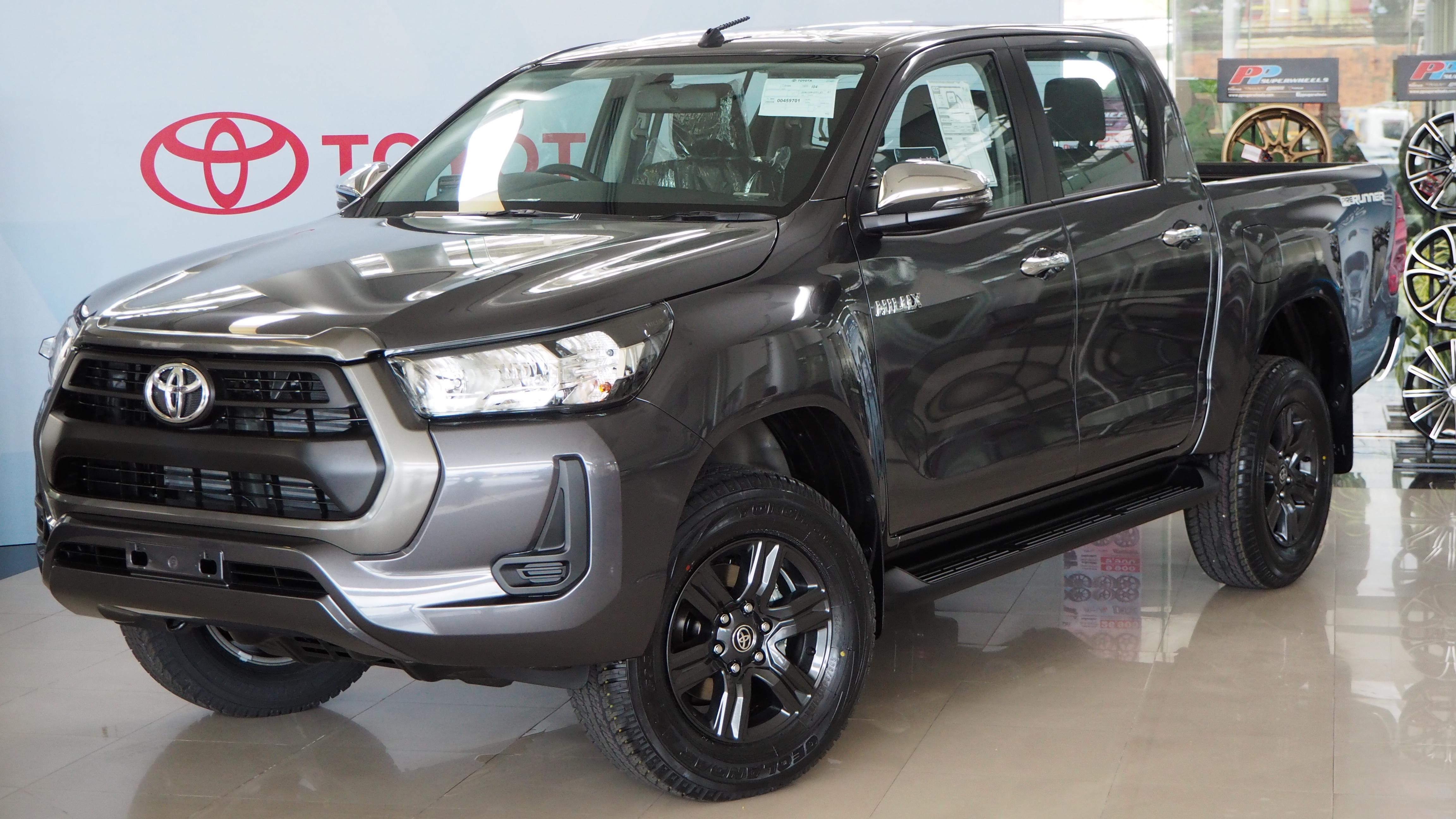 2020 Toyota Hilux History