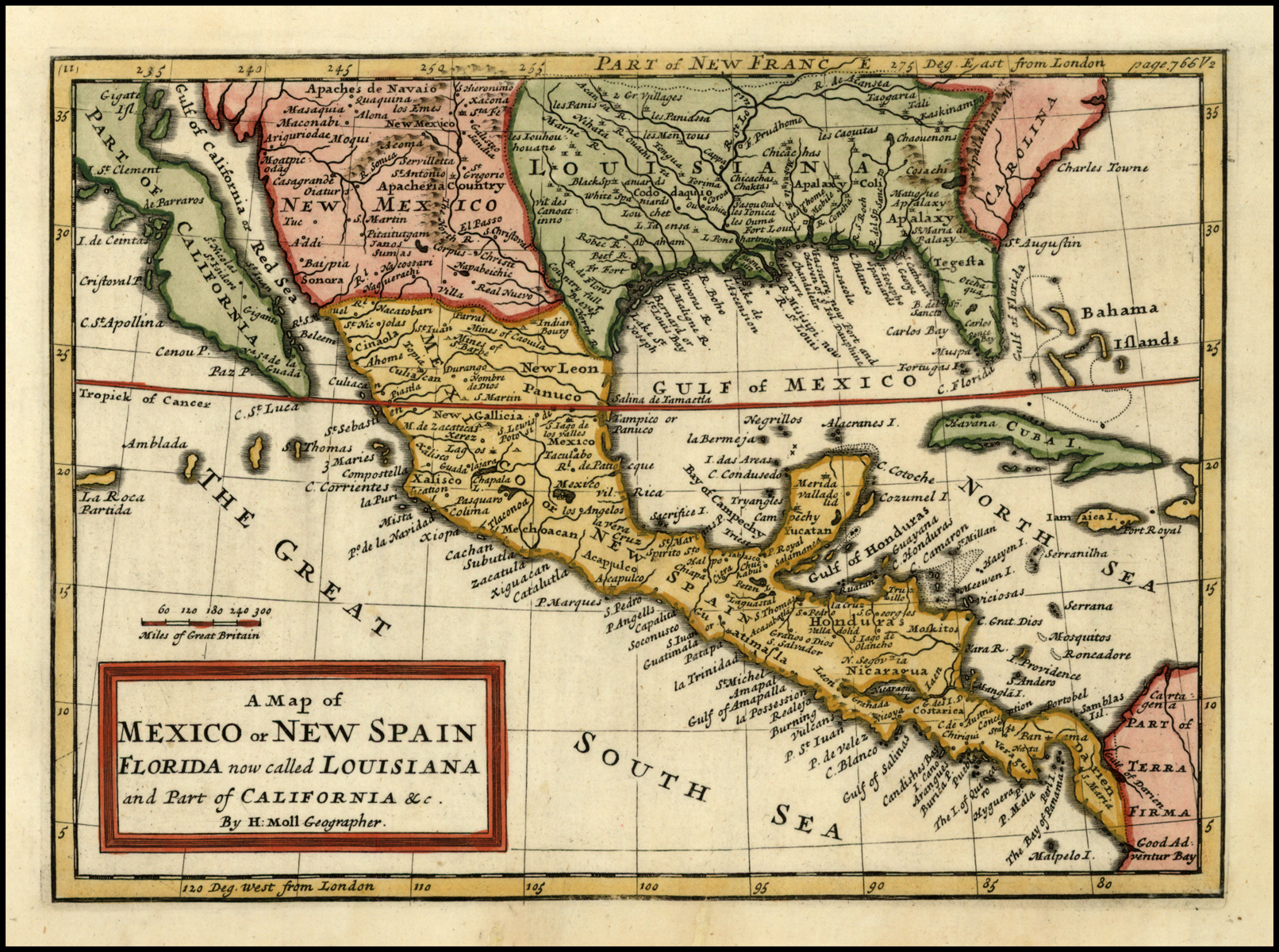 filea map of mexico or new spain florida now called louisiana and part