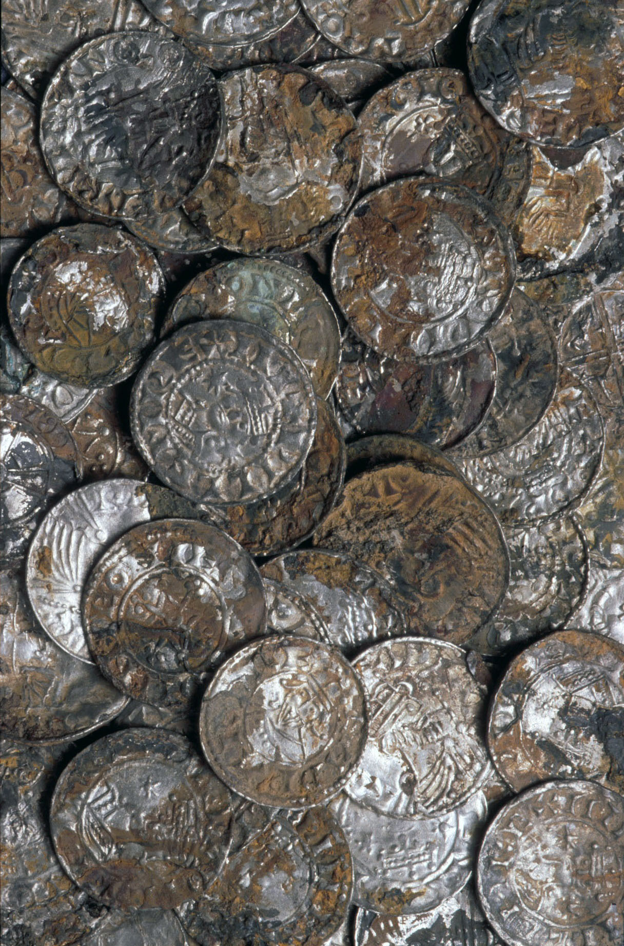 Huge Cache Of Thousand Year Old Coins Found Buried Beneath