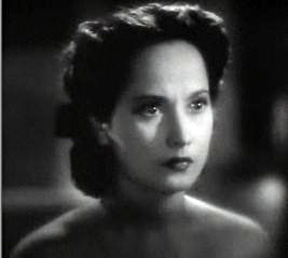 Cropped screenshot of Merle Oberon from the fi...