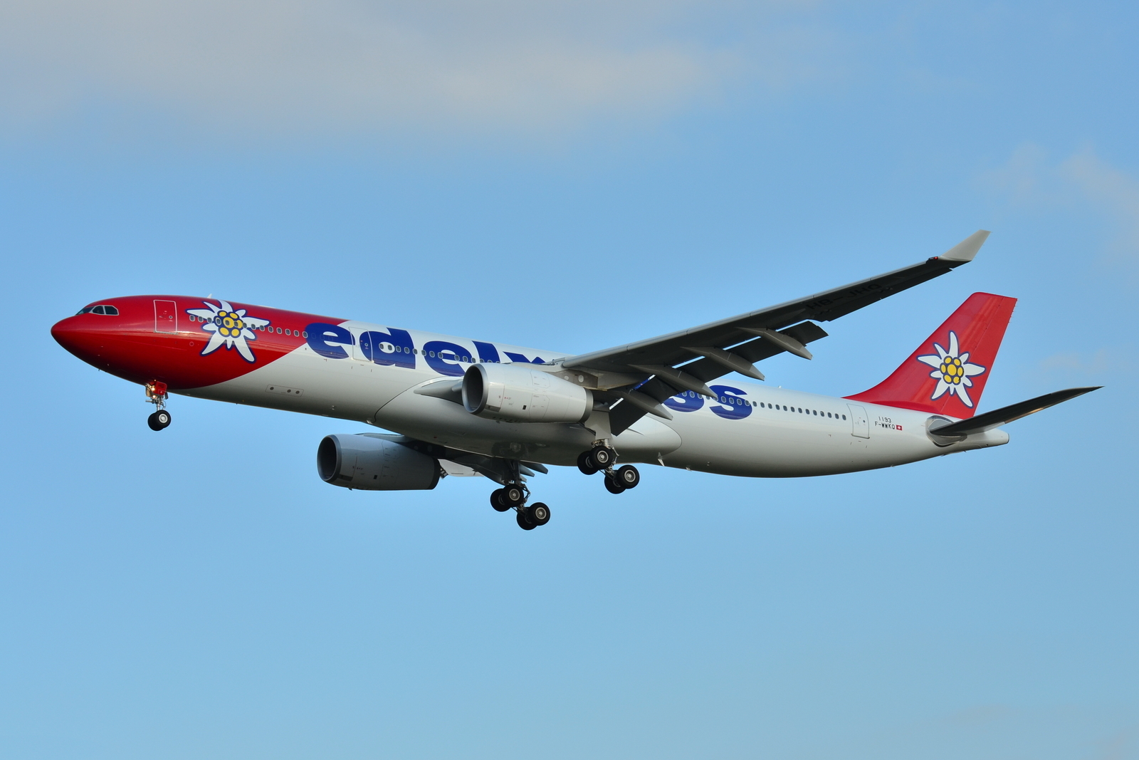 File:Airbus A330-300 Edelweiss Air (EDW) F-WWKQ - MSN