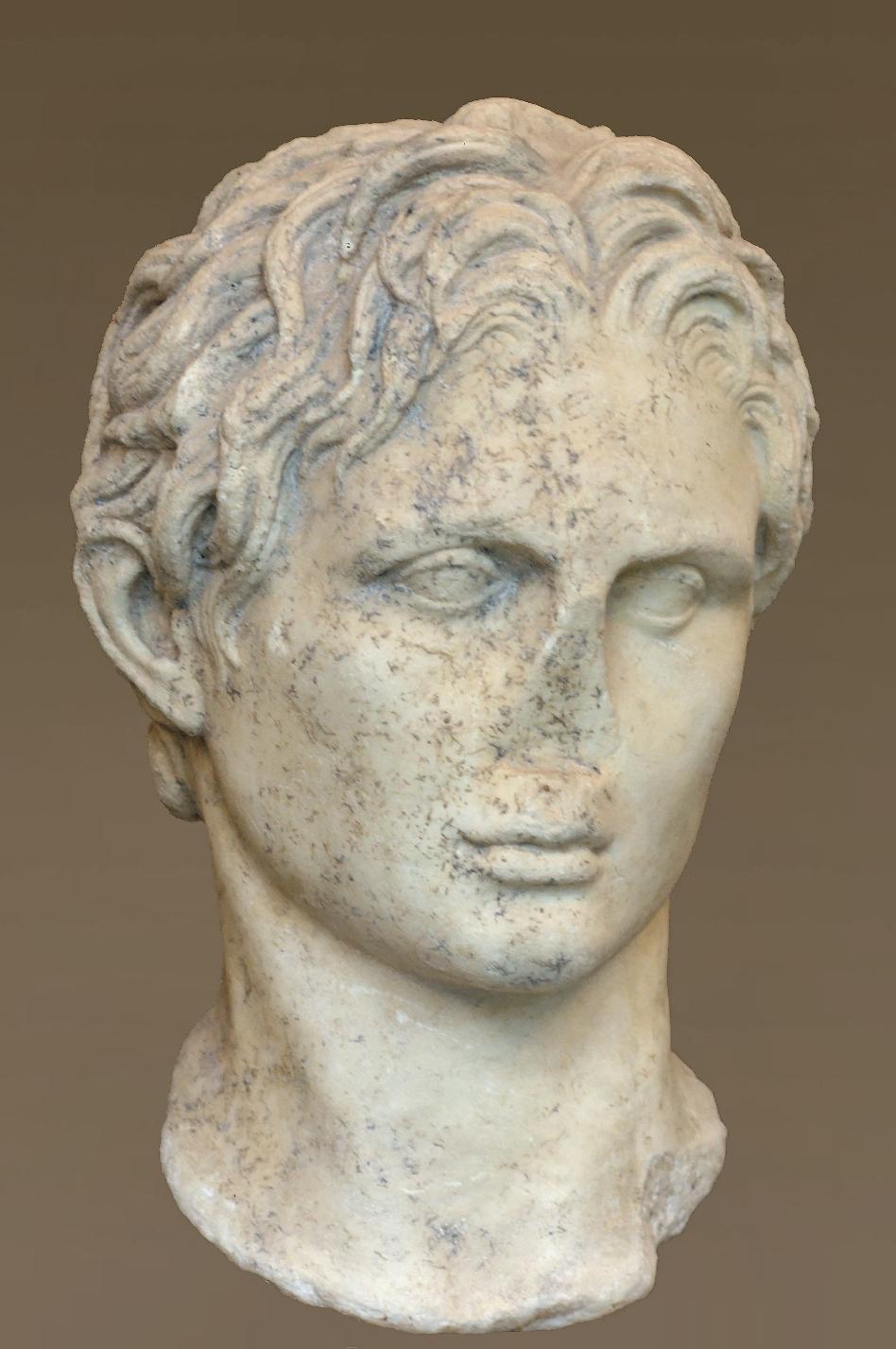 Ritratto di Alessandro Magno - Wikipedia
