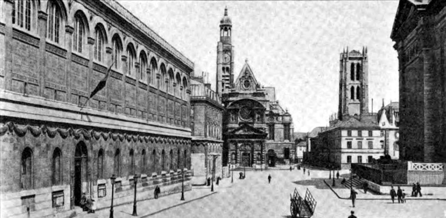 El París de Napoleón III - Página 25 Americana_1920_Libraries_-_Biblioth%C3%A8que_Sainte_Genevi%C3%A8ve_in_Paris