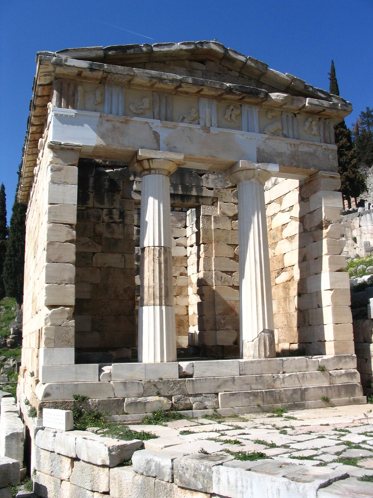 File:Athenian Treasury.JPG - Wikimedia Commons