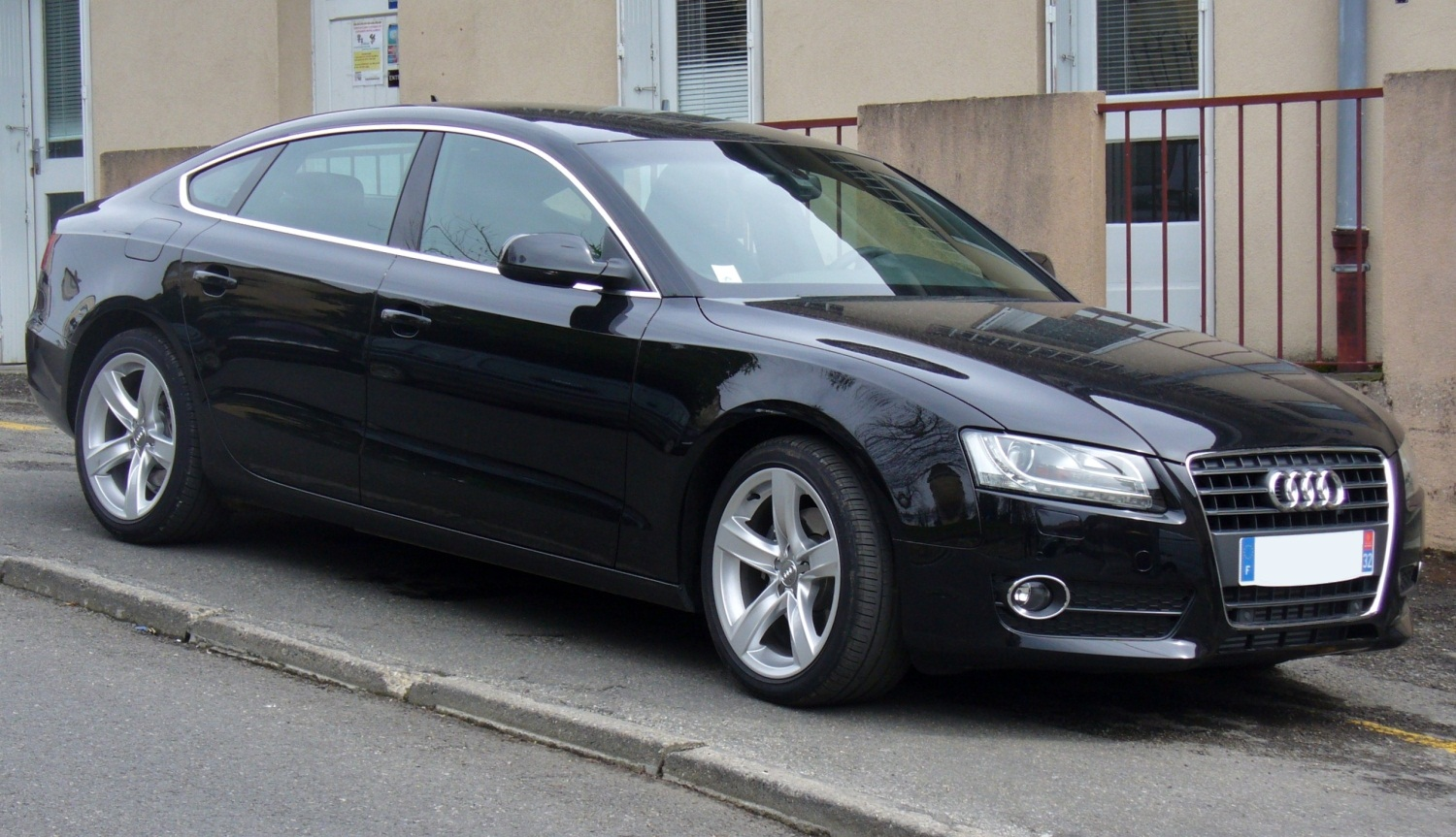 file audi a5 sportback 2 0 tdi jpg. Black Bedroom Furniture Sets. Home Design Ideas
