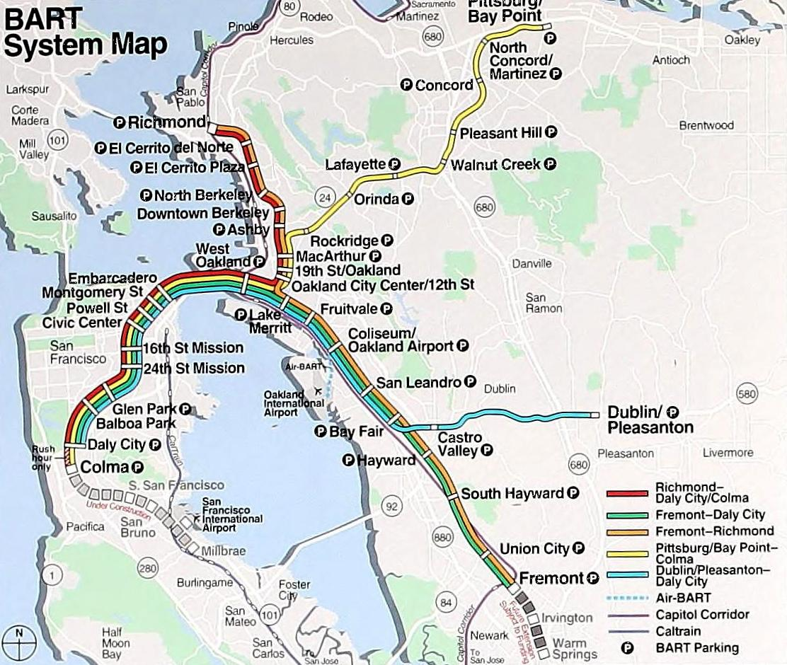 File Bart System Map 1999 Jpg Wikimedia Commons