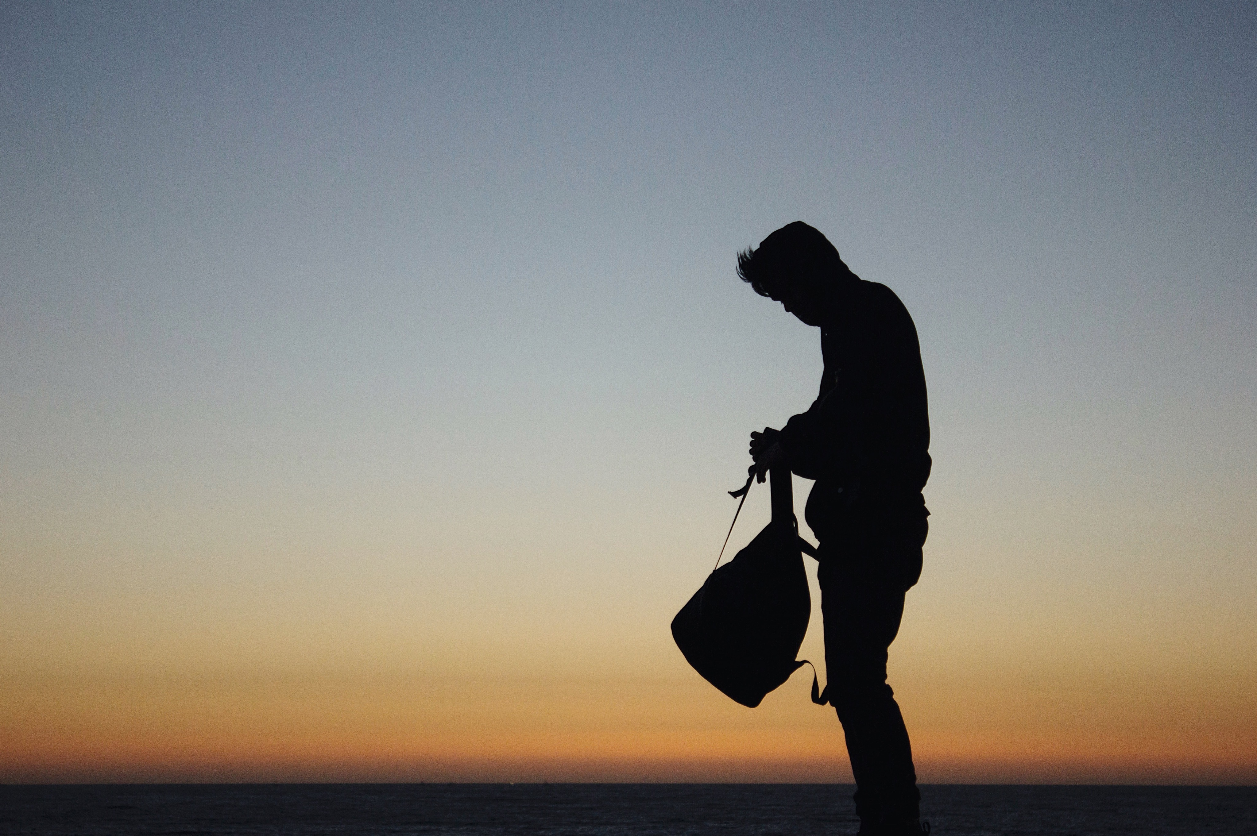File:Backpacker at sunset (Unsplash).jpg - Wikimedia Commons
