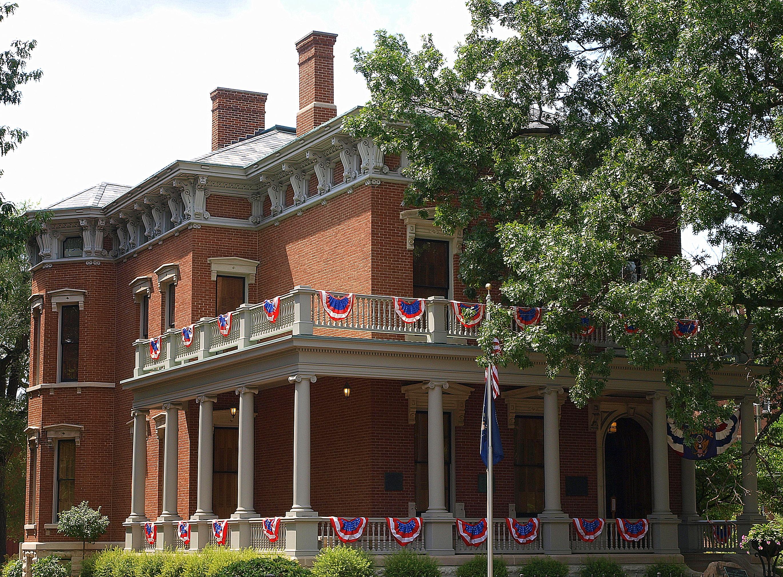 File:Benjamin Harrison House NRHP 66000010.jpg - Wikimedia ...  Benjamin Harrison House