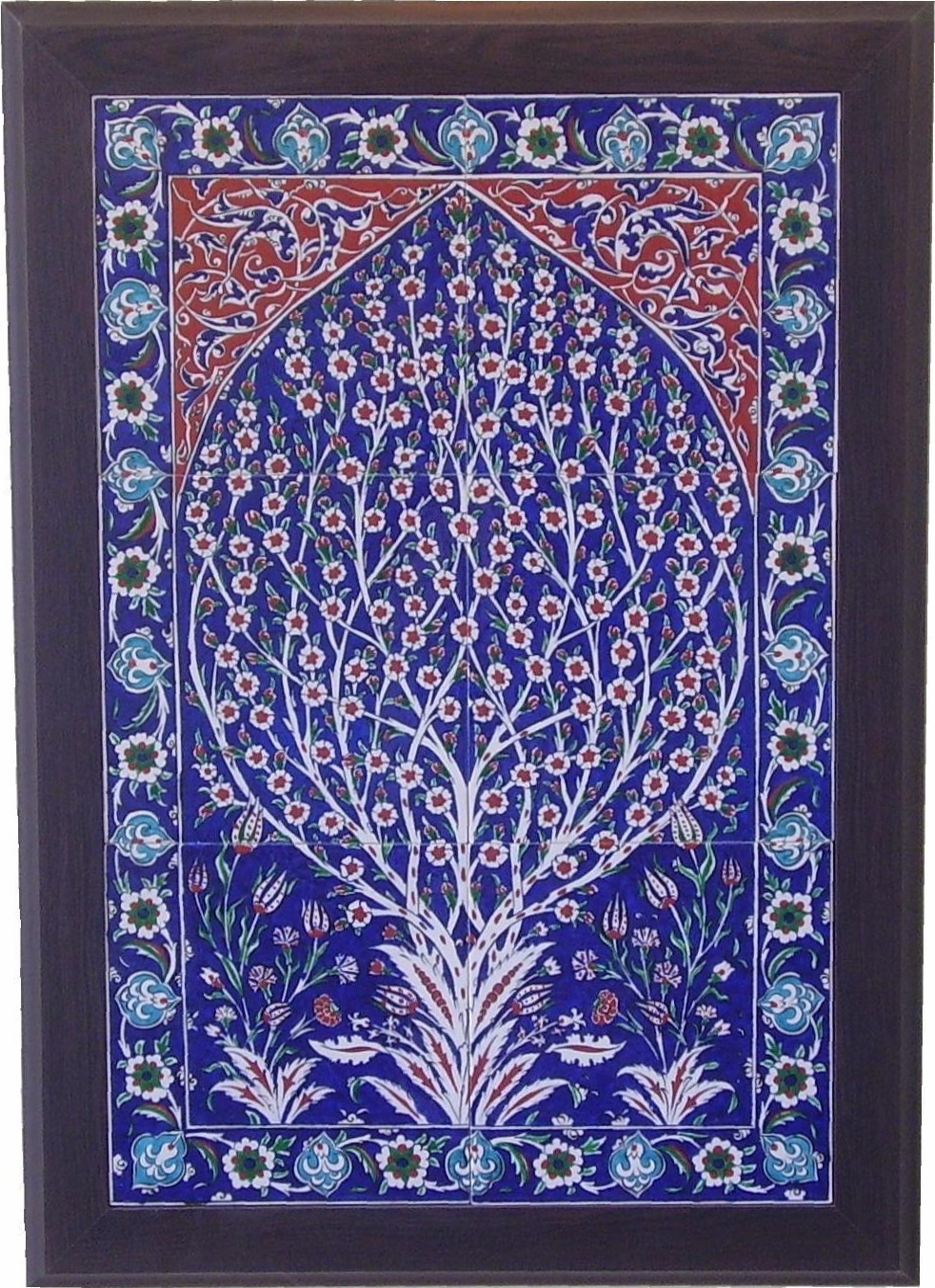 Turkish Blue Tile Floor