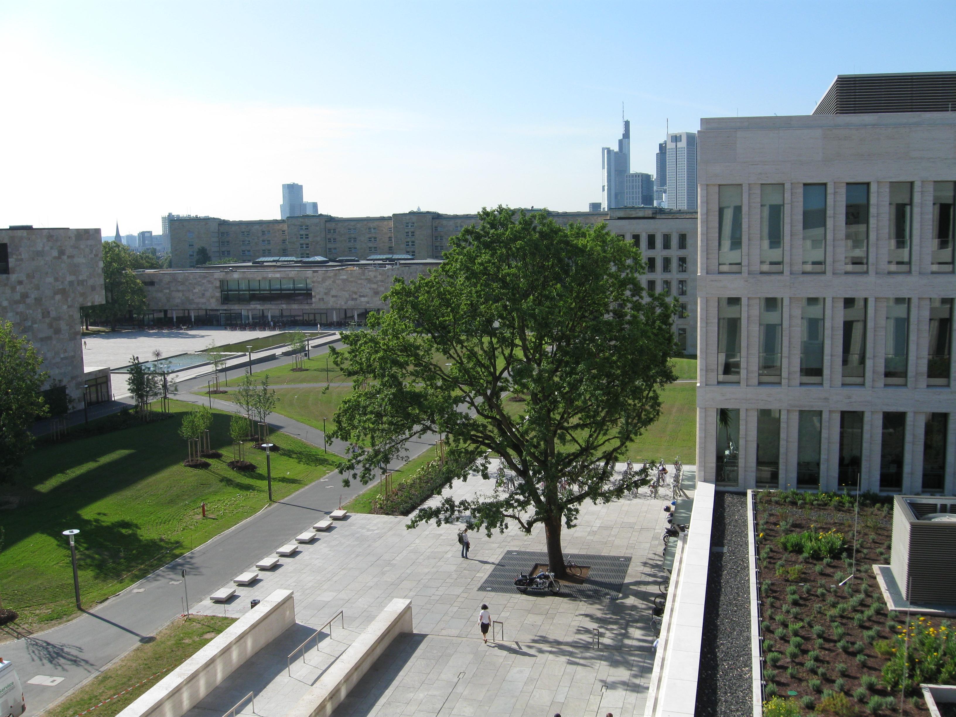 Goethe Campus Uni Frankfurt