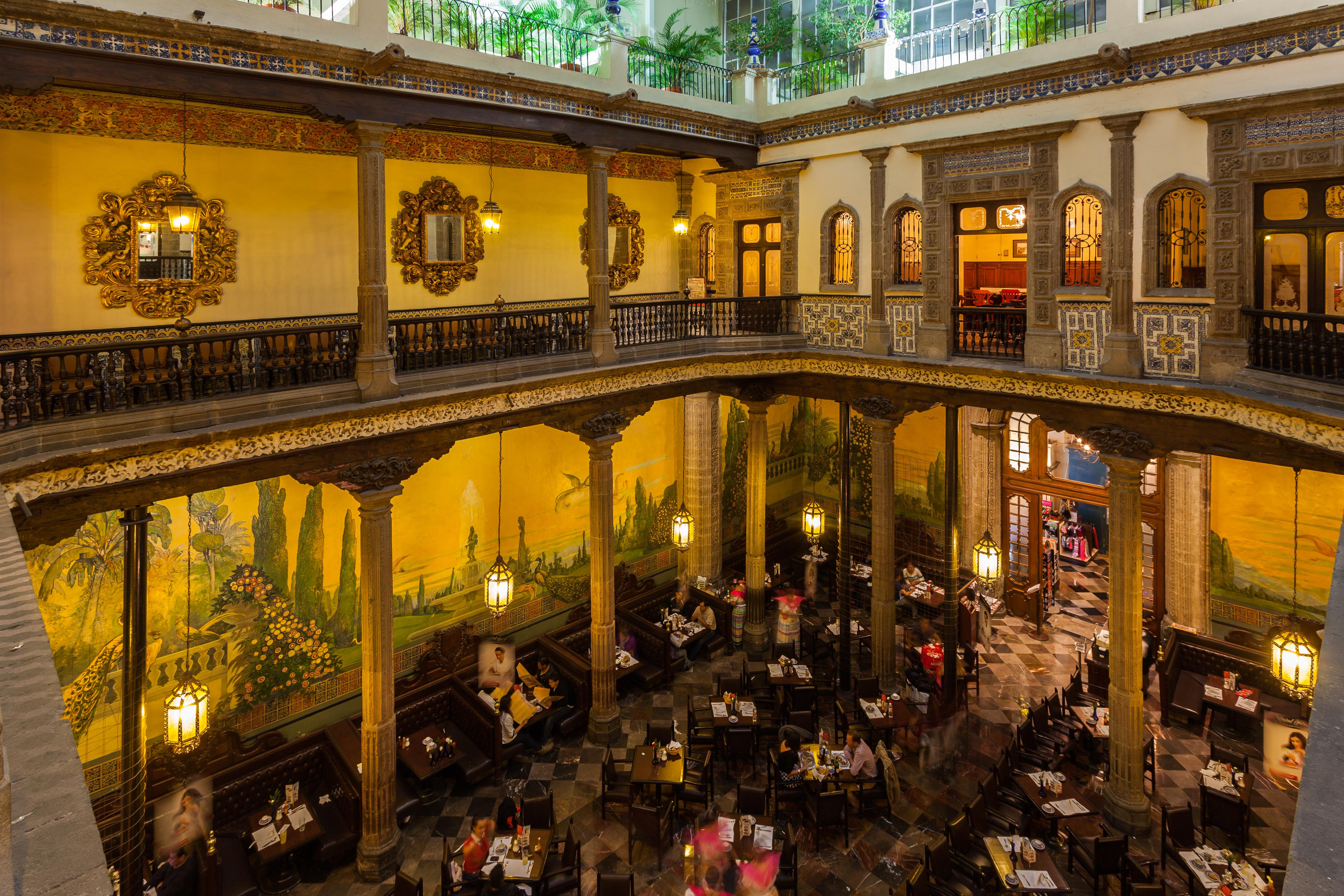 File casa de los azulejos m xico d f m xico 2014 10 13 for Sanborns azulejos restaurante