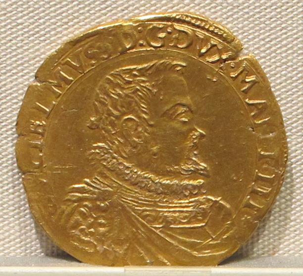 File:Casale monferrato, guglielmo gonzaga duca, oro, 1566-1587, 01.JPG