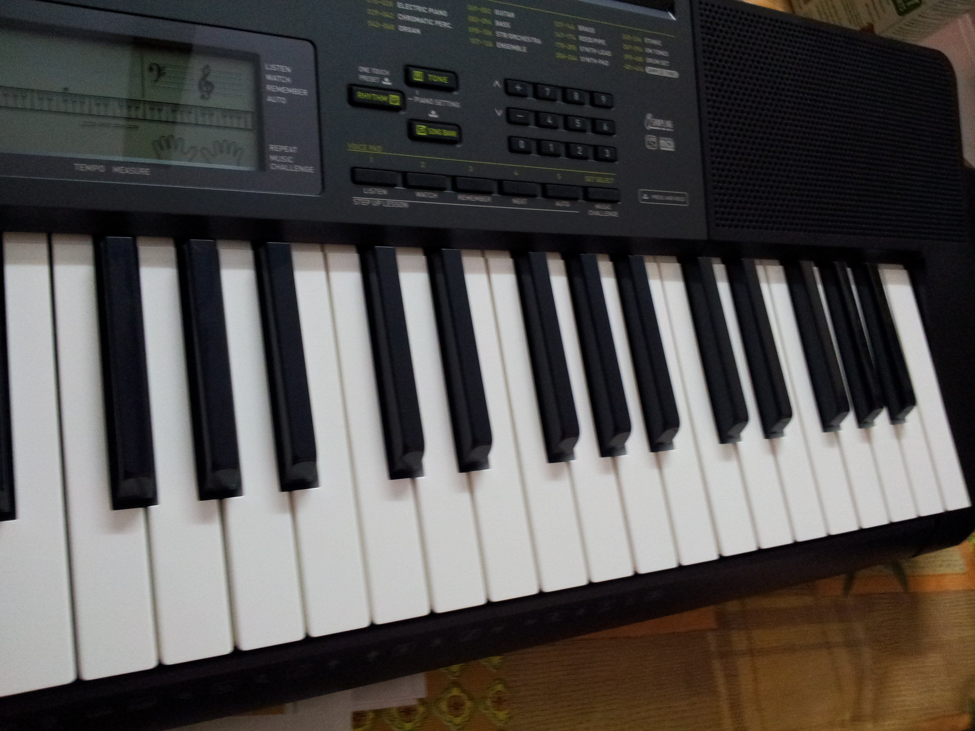 Electronic piano casio px 300