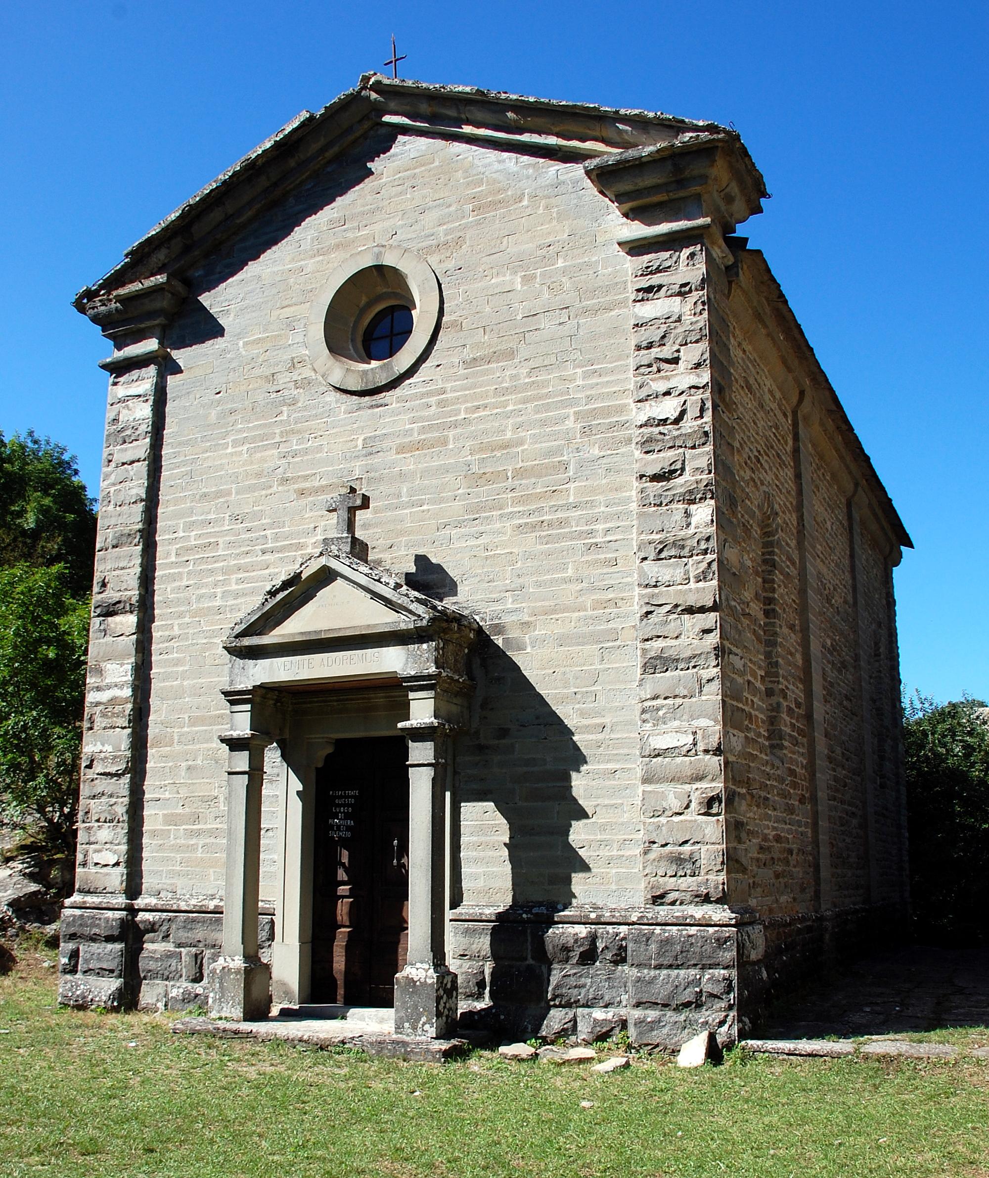 File chiesa di sant 39 eufemia alle graticce detta di pietrapazza bagno di romagna province of - Sant agnese bagno di romagna ...