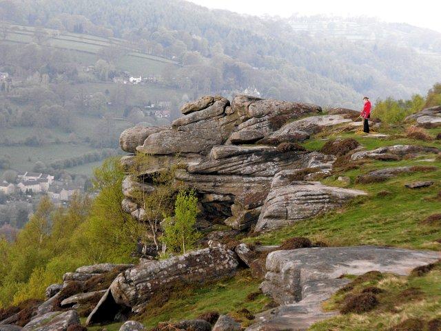 Climbers on Froggatt Edge - geograph.org.uk - 1282419
