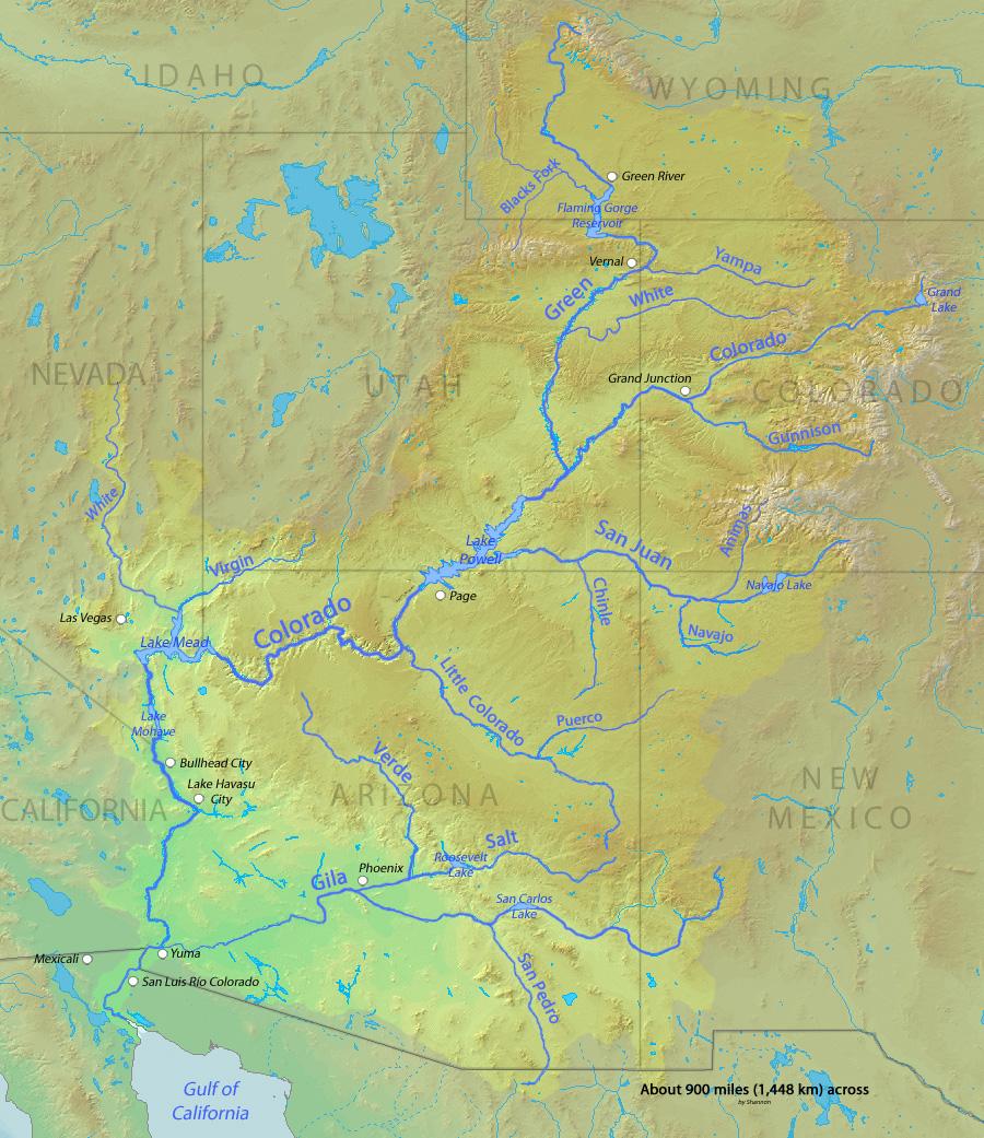 FileColoradorivermapjpg Wikimedia Commons - Colorado river map world atlas